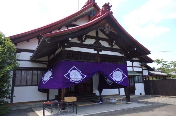 1京都・光照院会場外観